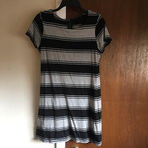 Merona Striped T-shirt Dress